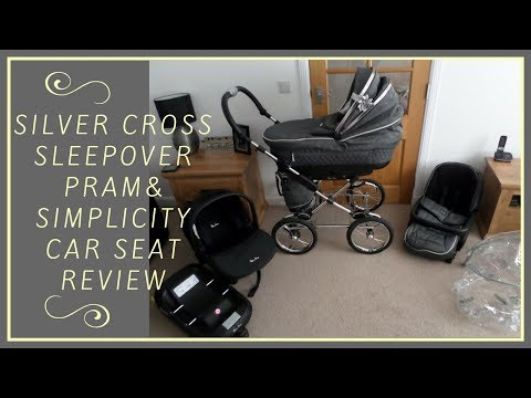 Silver Cross Sleepover Pram and Simplicity Car Seat Review