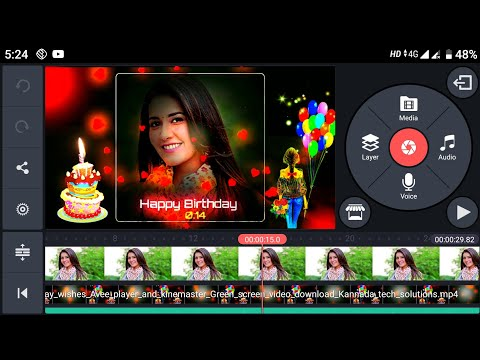 Download How To Edit Birthday Special Video Kinemaster Editing Video