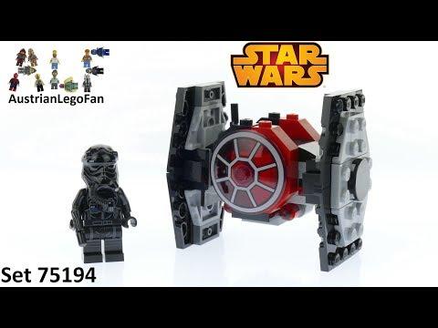 Vidéo LEGO Star Wars 75194 : Microfighter Chasseur TIE du Premier Ordre