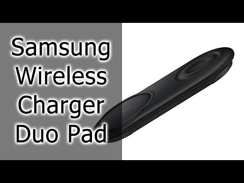 Обзор Samsung Wireless Charger Duo Pad