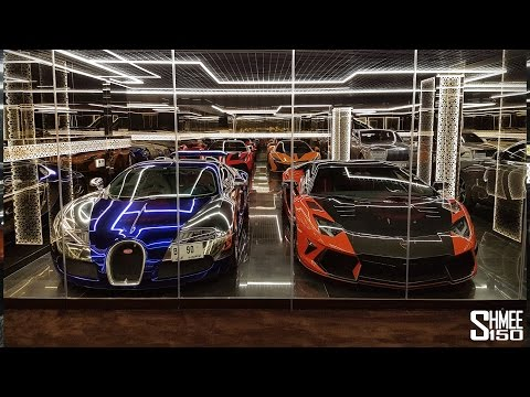 I Want THIS Dubai Supercar Garage!