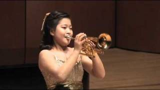 Aranjuez Concerto 2nd Mov for trumpet - Korean girl trumpeter(Go-eun Park, 13 years old)