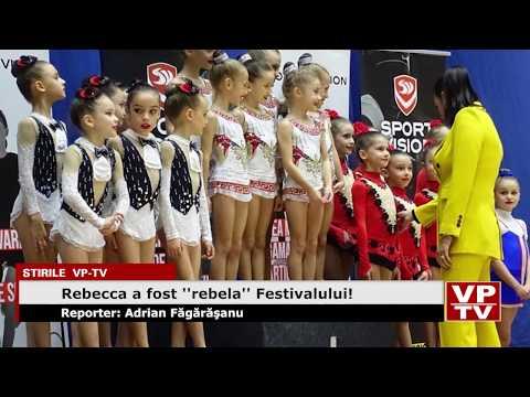 """Rebecca a fost """"rebela"""" Festivalului!"""