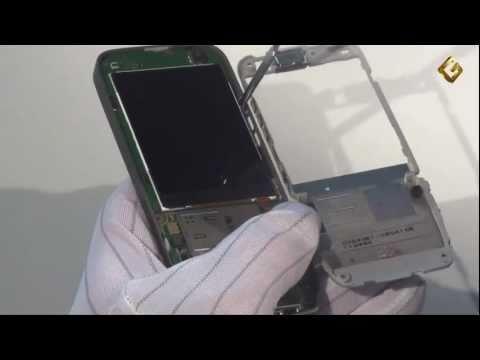 Ремонт Nokia E52-1 - замена дисплея в мобильном телефоне