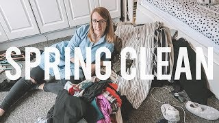 MARIE KONDO-ING MY WARDROBE | KonMari Method Clothing Declutter