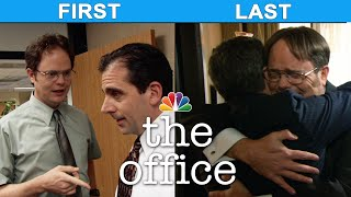 Michael Scott's First and Last Interactions - The Office