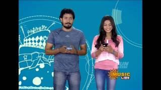 Sun music Vaazthukkal,show Vj Divya HD Video 26-07- 2016 Part -1