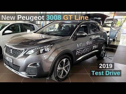 New Peugeot 3008 GT Line 2019 Review Interior Exterior