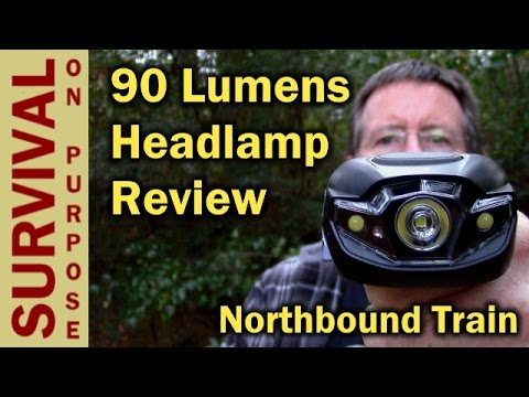 Budget LED Headlamp Review – Survival On A Shoestring