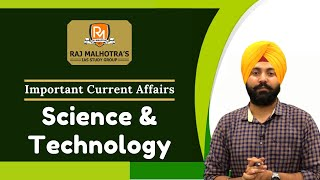 Science & Technology | Current Affairs | UPSC