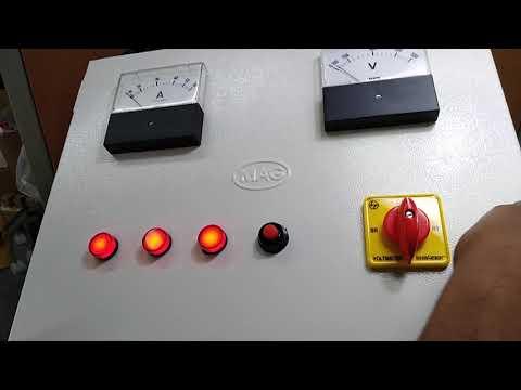 Three Phase Star Delta Control Panel