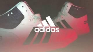 Sepatu Sneakers Basket ADIDAS HOOPS 2.0 MID - Similiar Brand to Nike Under Armour Puma Skechers