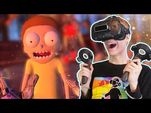MEETING MORTY IN VIRTUAL REALITY!   VRChat: Funny VR Moments (HTC Vive Gameplay)