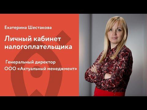 Личный кабинет налогоплательщика. Екатерина Шестакова
