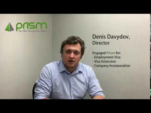 Client Testimonial on Prism Visa Services
