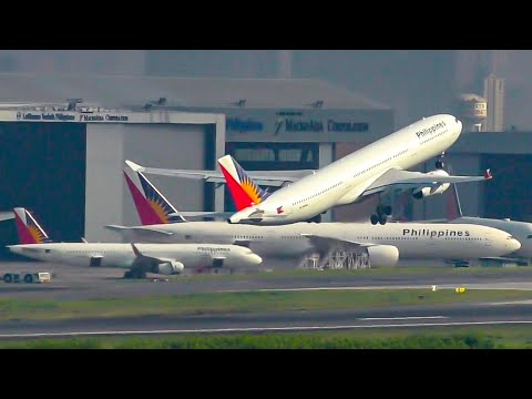 THE PHILIPPINES IS AMAZING | Incredible Plane Spotting at Manila Airport