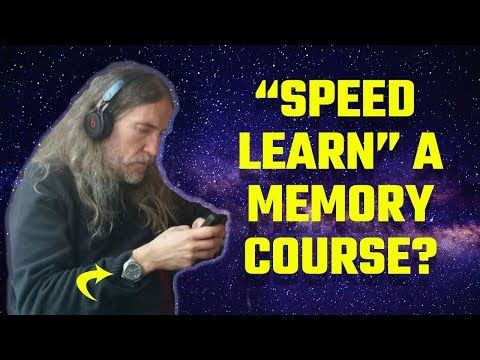 How to RAPIDLY Complete A Memory Course   Speed Learning ...