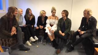 INTERVIEW WITH AMAZING R5 (Bella&Filippa)