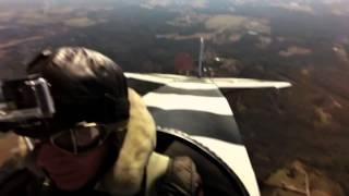 Fokker Dr1 Dual View - Aerobatics