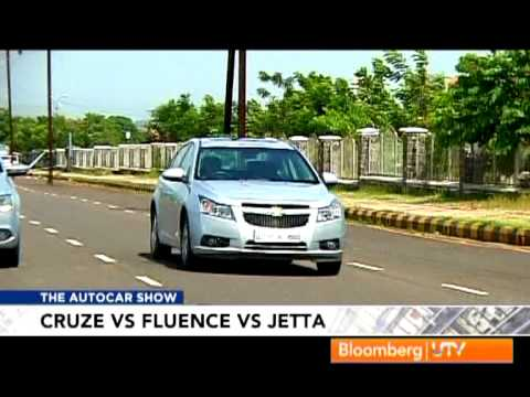 2012 Chevrolet Cruze Vs Renault Fluence Vs Volkswagen Jetta | Comparison Test - Volkswagen Videos