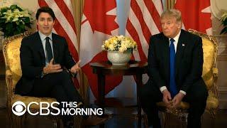 Trump trades tense exchanges with NATO allies
