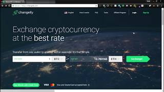 How to buy bitcoin with debit or credit card on Changelly