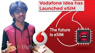 Latest iPhone's Support Vodafone eSIM in INDIA | Vodafone Idea eSim | TECHBYTES