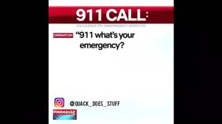 911 what's your emergency a guy in a dog costume