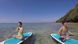 サップヨガを沖縄の美しい自然の中で体験