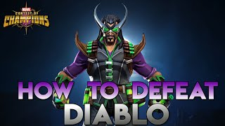 How to defeat Diablo (Uncollected) Fully Breakdown - Marvel Contest of Champions
