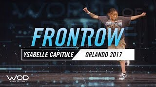 Ysabelle Capitule | FrontRow | World of Dance Orlando 2017 | #WODFL17