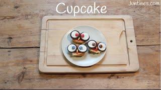 Cómo decorar CUPCAKES con forma de búho | Recetas faciles para niños