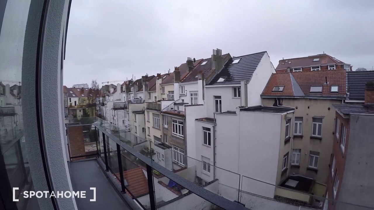 Contemporary 1-bedroom apartment with balcony for rent in Saint Josse