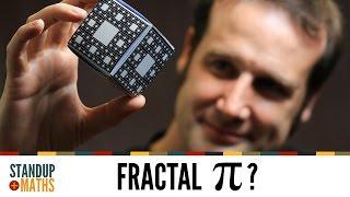 The Fractal Menger Sponge and Pi
