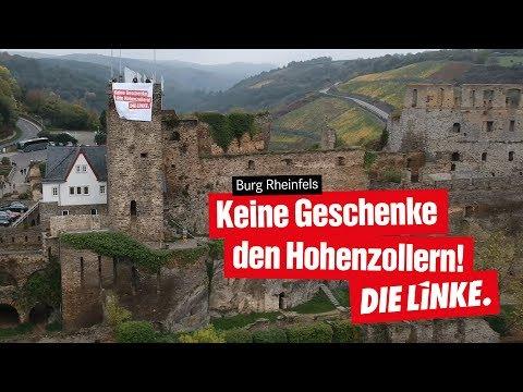 Burg Rheinfels nicht den Hohenzollern schenken!