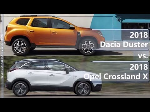 Opel  Crossland X Кроссовер класса J - тест-драйв 5
