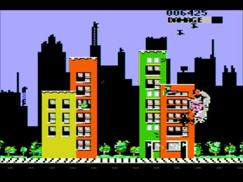 Rampage for the Apple II