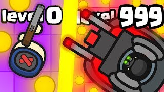 IS THIS THE MOST EXPENSIVE STRONGEST TANK EVOLUTION? (999+ HIGHEST LEVEL) l Gunzer.io New .IO Games