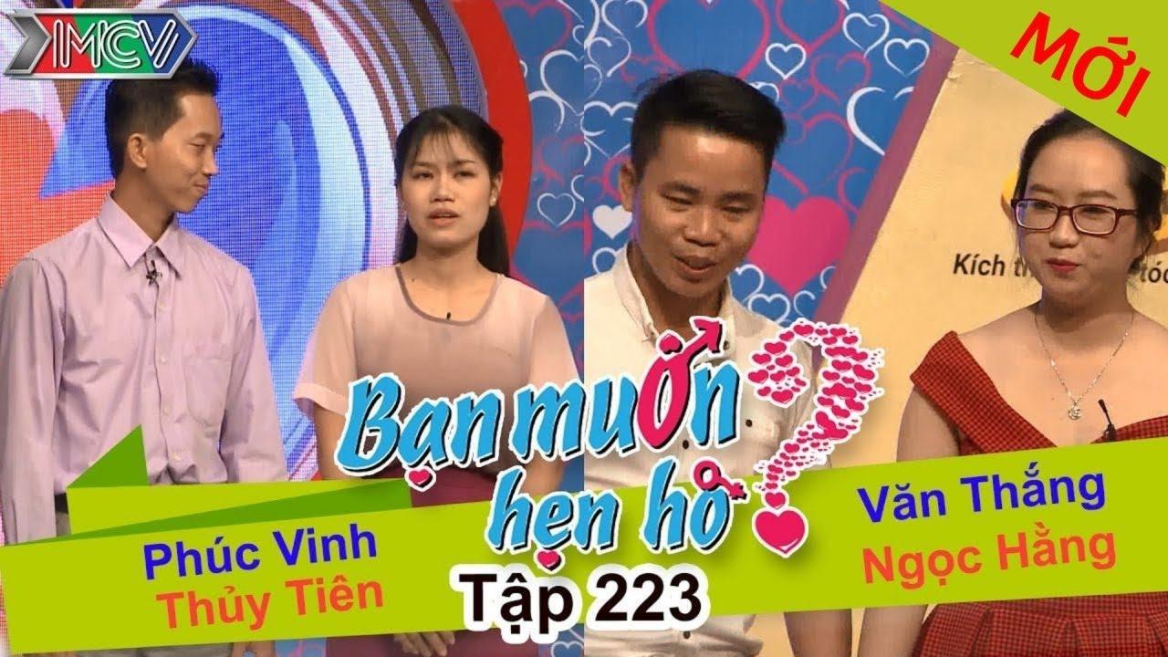 Phúc Vinh - Thủy Tiên   Văn Thắng - Ngọc Hằng   BẠN MUỐN HẸN HÒ   Tập 223   27/11/2016