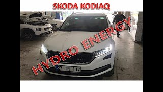 Skoda Qodiaq hidrojen yakıt tasarruf sistem montajı
