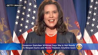 Here's What Gov. Whitmer Said About When Gyms, Theaters Will Re-Open