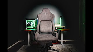 Razer's New Gaming Chair Is Almost Perfect | Razer Iskur Fabric