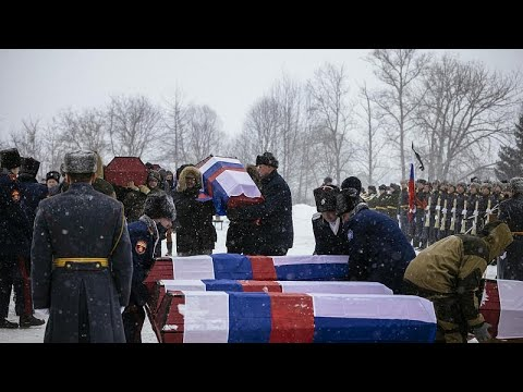 Τελετή επαναταφής λειψάνων Γαλλών και Ρώσων στρατιωτών πεσόντων στη μάχη της Μόσχας…