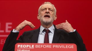 video: Labour Party conference: Jeremy Corbyn risks clash with frontbench after signaling he will not call confidence vote in Boris Johnson