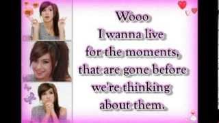 Christina Grimmie - My Anthem (lyrics)