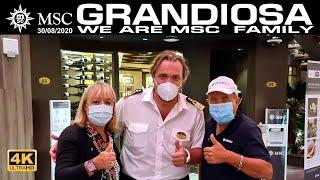 MSC GRANDIOSA ...CAPTAIN Marco MASSA & MSC FAMILY !!!