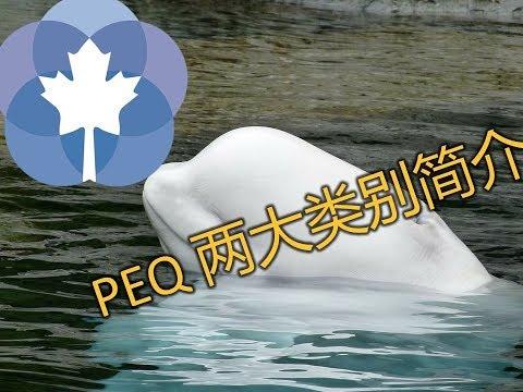 魁省经验类移民 PEQ 两大类别简介