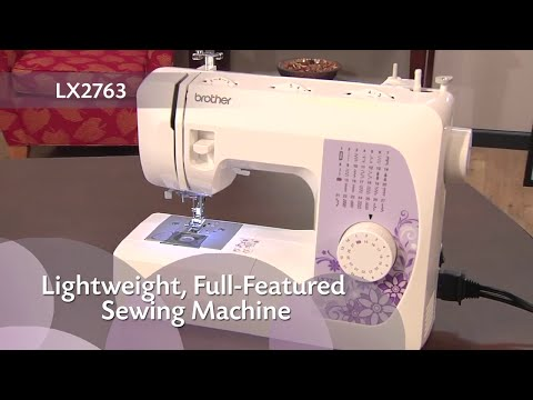 sewing machine lx2763