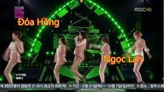 Đóa Hồng (Rose Flowers) - Ngọc Lan + Hot Dancers,  HD