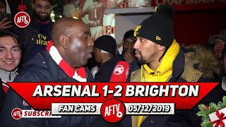 Arsenal 1-2 Brighton | Why Are Pepe & Tierney On The Bench?! (Curtis)